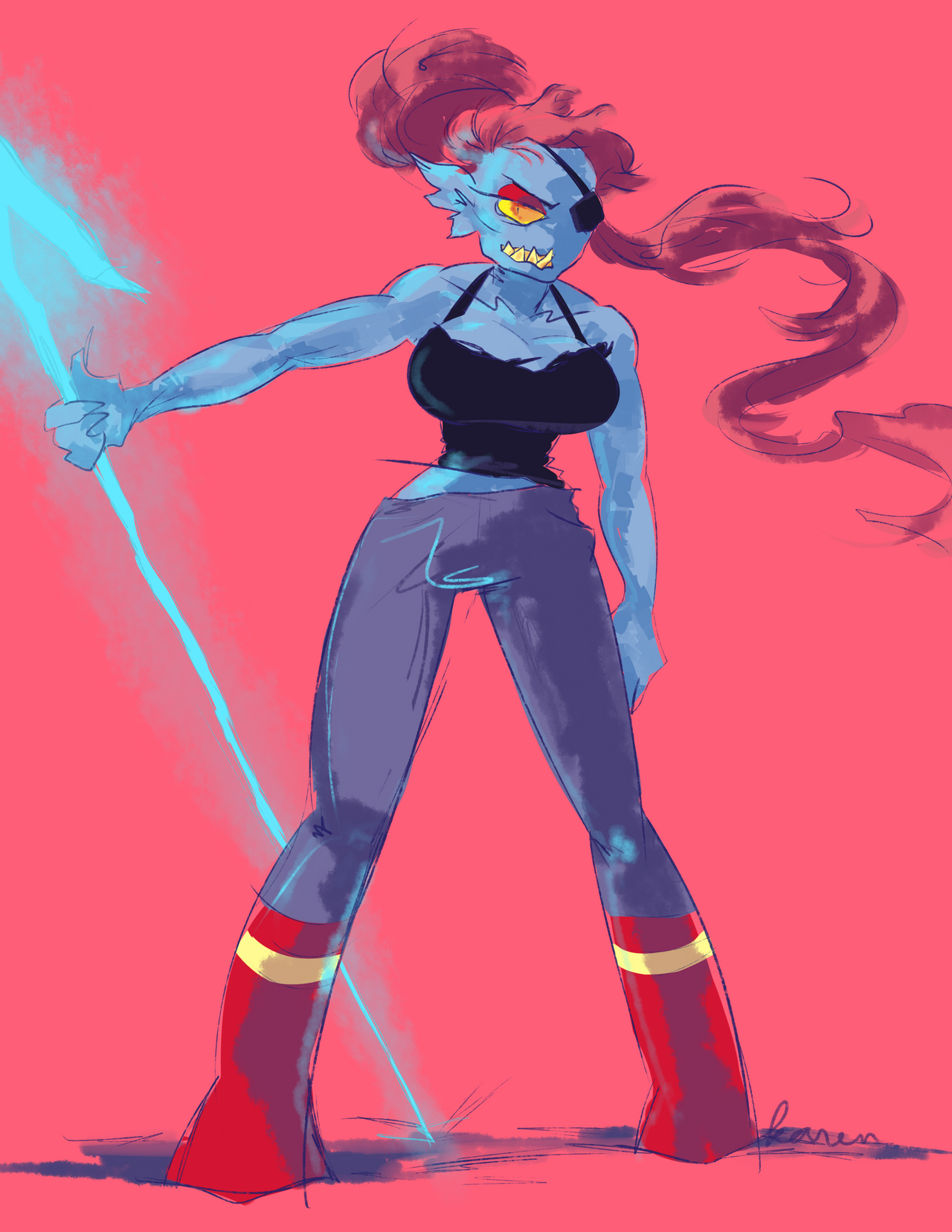 undyne by Shinkami