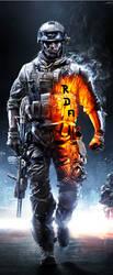 Battlefield 3 for my team RDA by Superbidou