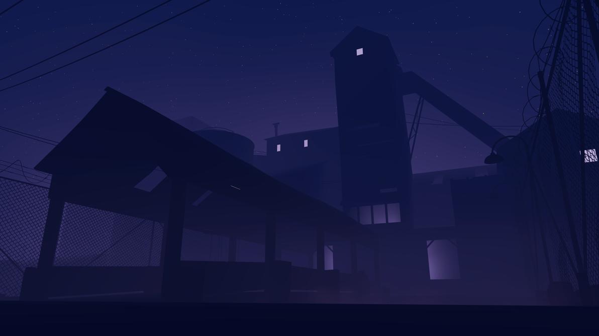 Midnight on the Fort by darthbodan