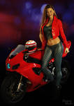 Ai and her bike2