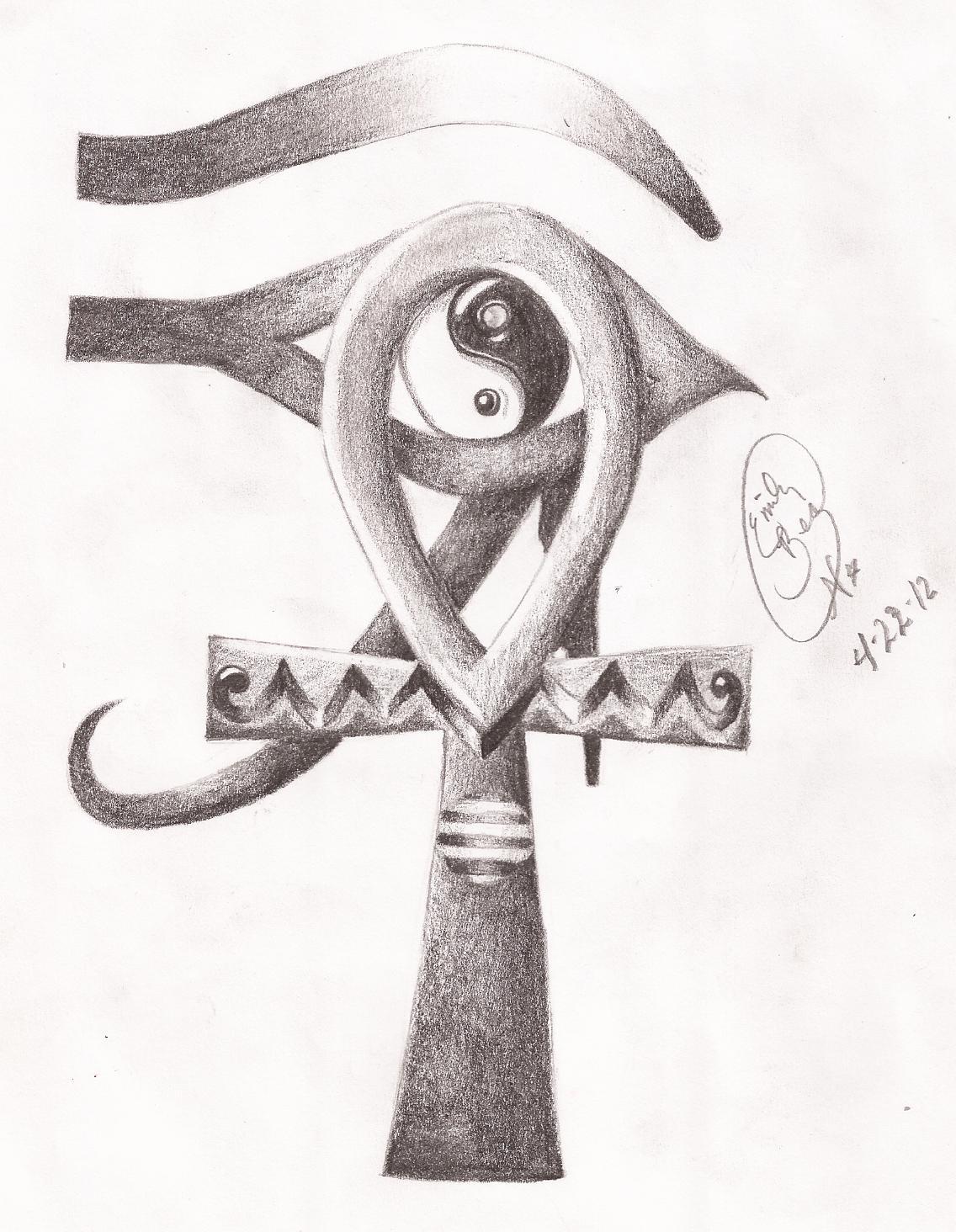 ankh and eye of horus