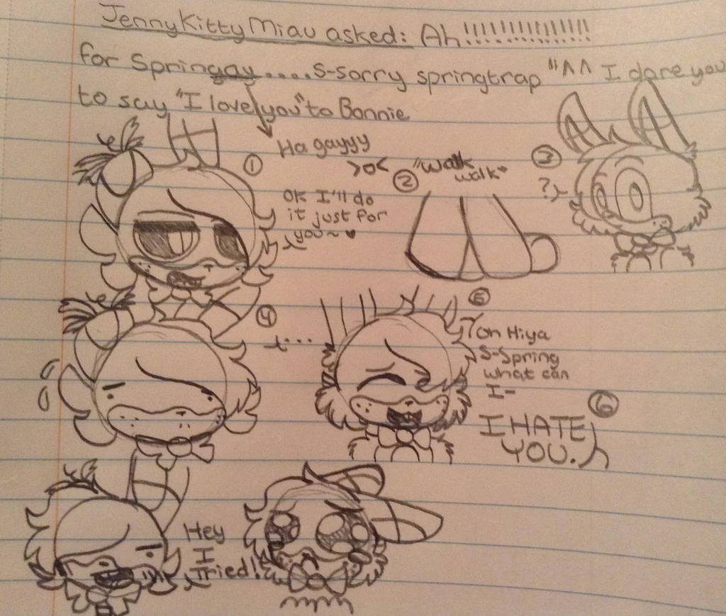Ask The FNAF Crew ( Question 11 ) by CreepyGamerGirl2002