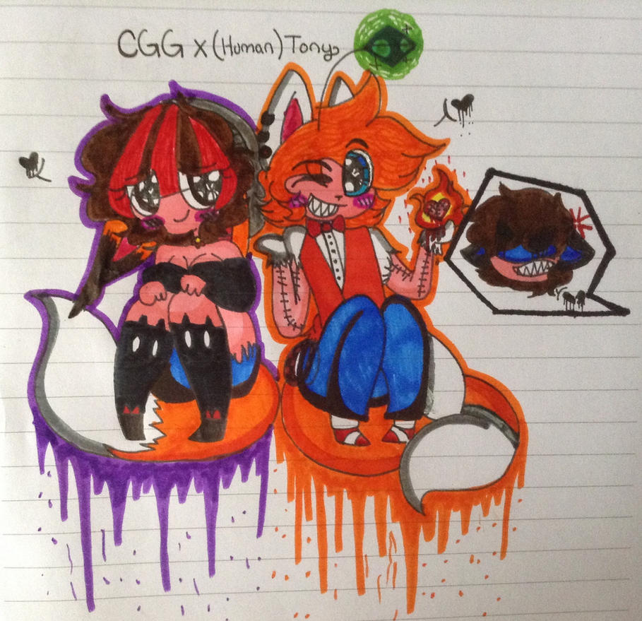 CGG X ( Human ) Tony The Tails Doll by CreepyGamerGirl2002