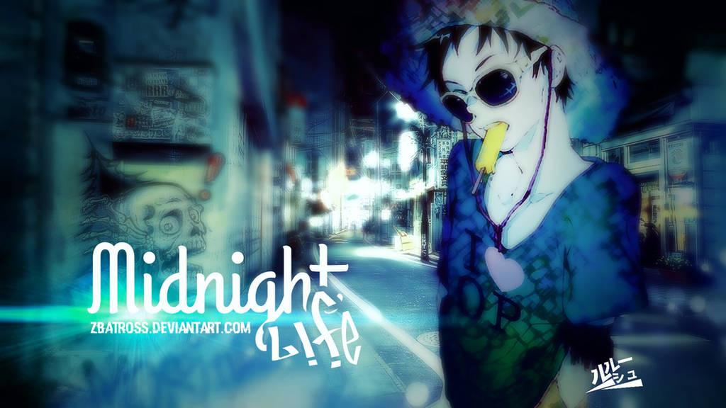 Midnight Life Monkey D Luffy One Piece By Zbatross On