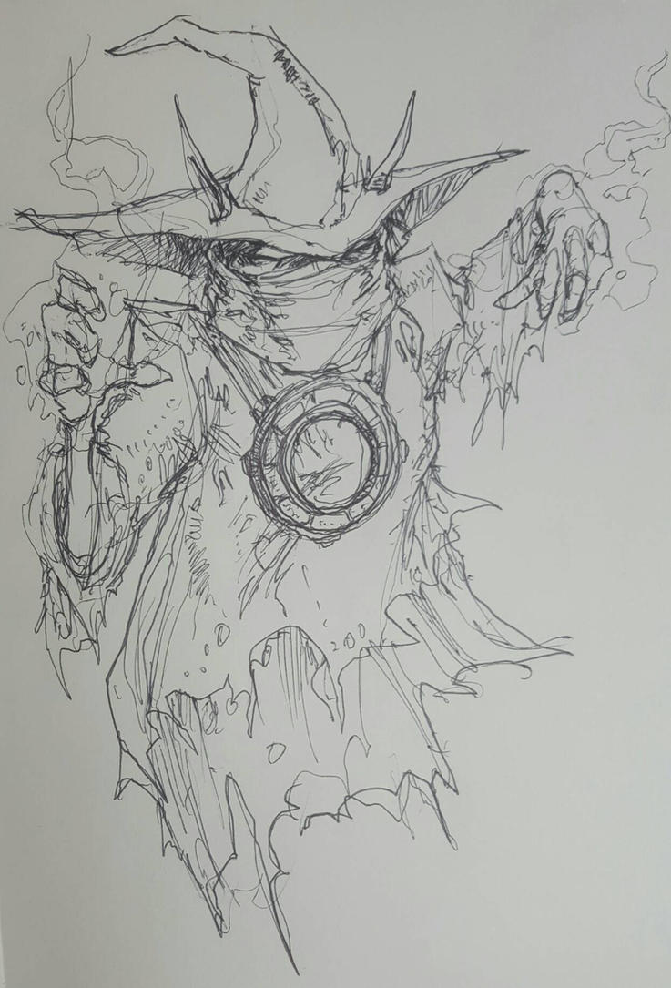 Orko sketch by bainillustration