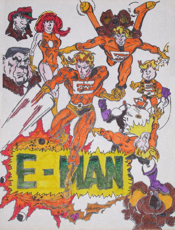 E-Man by chrisryall