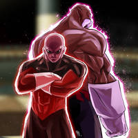 Jiren and Toppo OP fan art