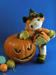 Pumpkin Witch by dawntoussaint