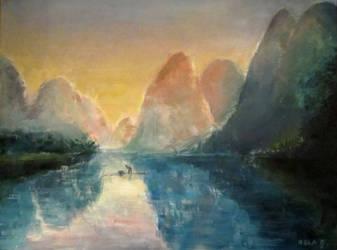Landscape by NelEilis