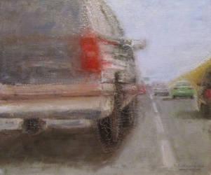 Car chase by NelEilis