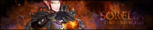 Destruction Warlock Signature by NelEilis