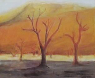 Desert dunes by NelEilis