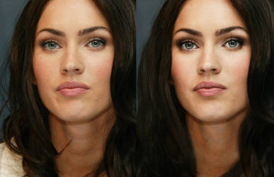 Megan Fox before and after by NelEilis
