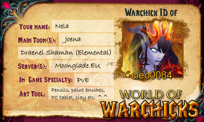 Warchick ID by NelEilis