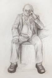 The Thinker by NelEilis