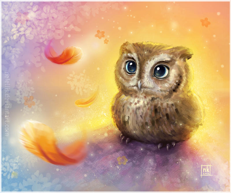 Mr. Owl by NelEilis