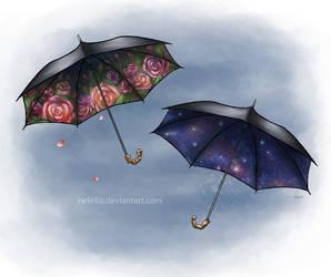 Parasols by NelEilis
