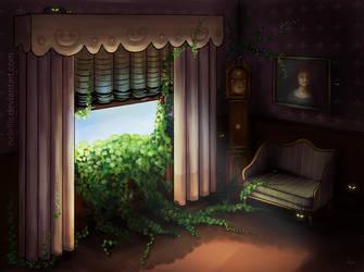 Crawling Ivy by NelEilis
