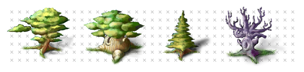 Trees by NelEilis