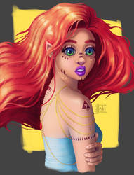 Redhead by NelEilis