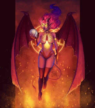 Demon Lady by NelEilis