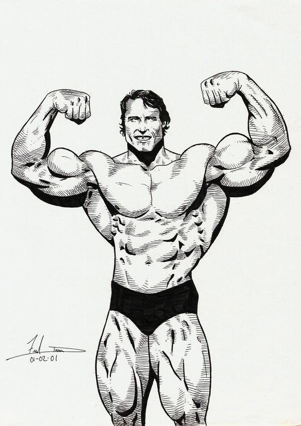 Arnold Schwarzenegger by DredFunn