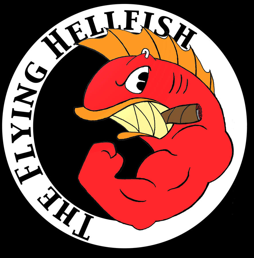 the flying hellfish by tranself on deviantart