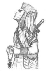 Wood-elf spirit-talker