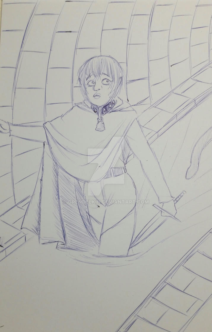 Cold doodle . 1 by Grendelkin