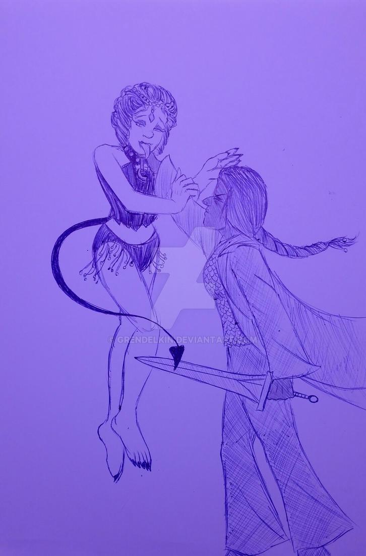 Cold doodle . 2 by Grendelkin