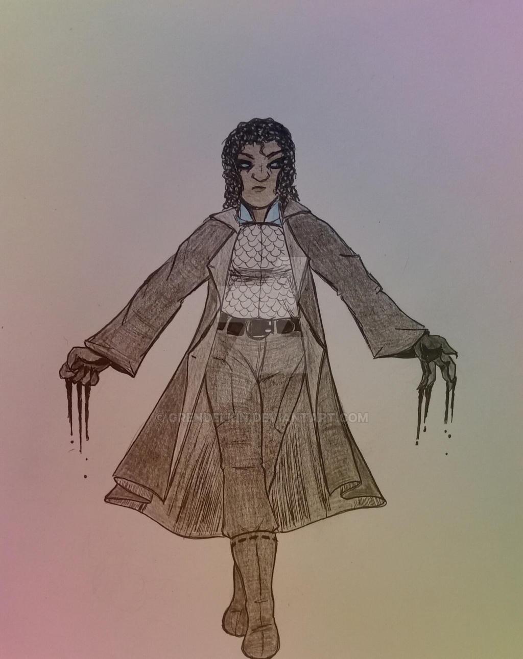 OCs: Cassie by Grendelkin