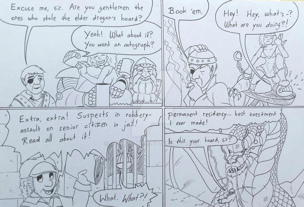 Crimes against the elderly by Grendelkin