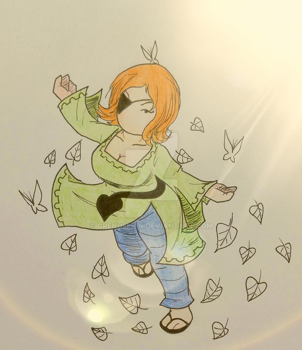 Emma turns widdershins