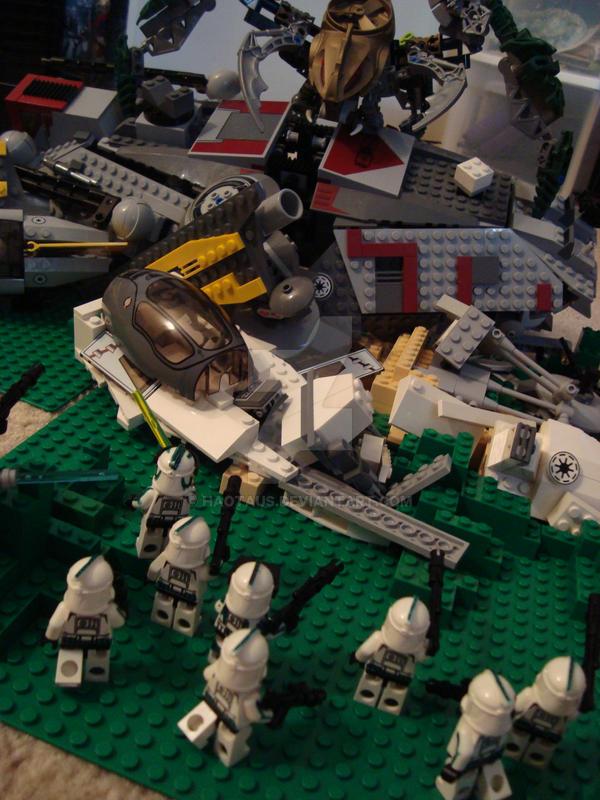 Battle Scene by Haotaus