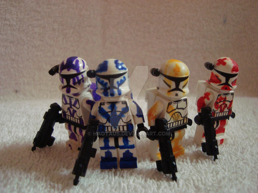 Clone Commandos by Haotaus