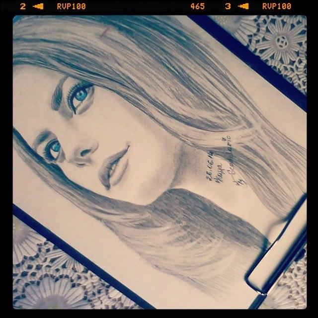 Kaya Scodelario by MarinaWoo94
