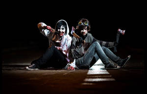 |Heroes of Creepypasta| Ticcy-Toby and Jeff by Tomo-Hewstone