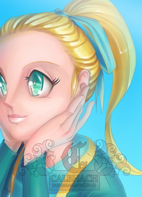 Tier 6 Full-Color Bust for TehMelMak by calbhach