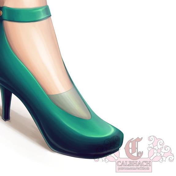 Tier 6 Shoe Tutorial Request for TehMelMak by calbhach