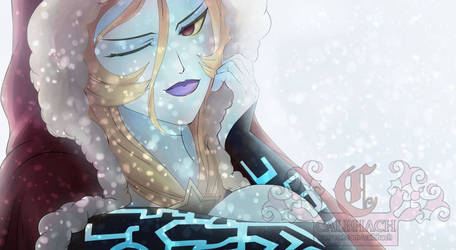 LoZ: TP - Christmas Midna Patreon Preview