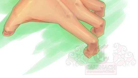 Tense Male Hand Tutorial (Upper) of Patreon