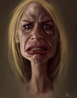 Claire Danes from Homeland by norbface