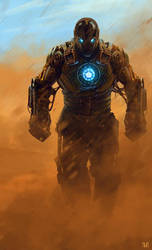 Steampunk Iron - Man by norbface