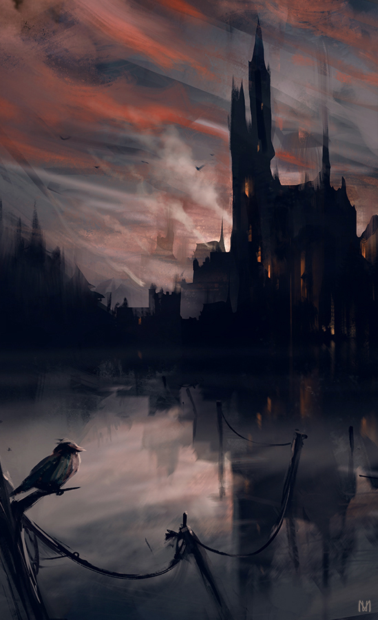 DARK CASTLE by norbface