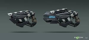 Sci-fi Weapon concept