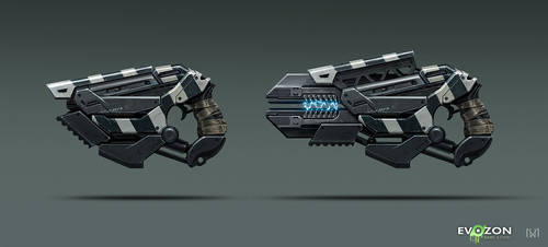 Sci-fi Weapon concept