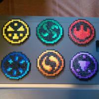 Legend o zelda ocarina of time the six medalions