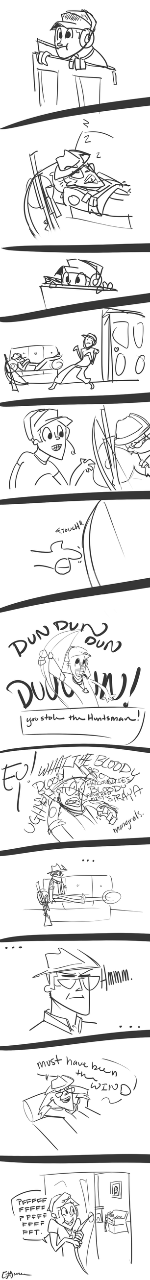 Death of an Interior Pigeon - Page 1 (draft) by TheGreatHushpuppy