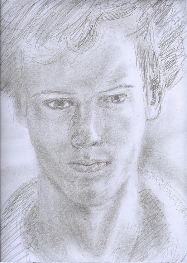 jack crosby self portrait by Jack-Kirby-Crosby