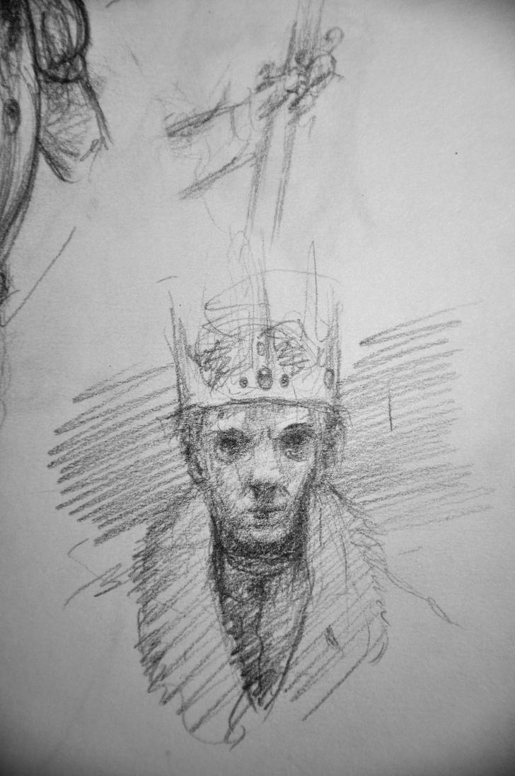 a princely king by Jack-Kirby-Crosby